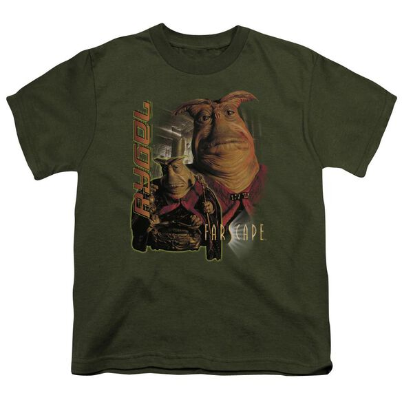 Farscape Rygel Short Sleeve Youth Military T-Shirt
