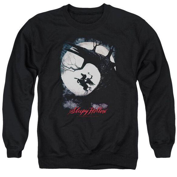 Sleepy Hollow Poster Adult Crewneck Sweatshirt
