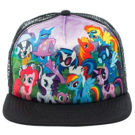 My Little Pony Group Sublimated Trucker Hat