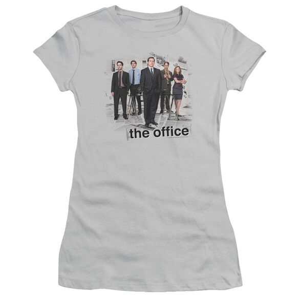 The Office Cast Short Sleeve Junior Sheer T-Shirt