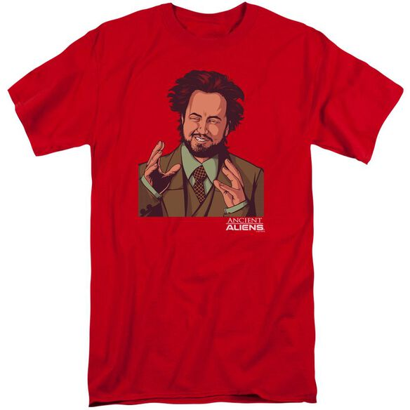 Ancient Aliens It Must Be Aliens Short Sleeve Adult Tall T-Shirt