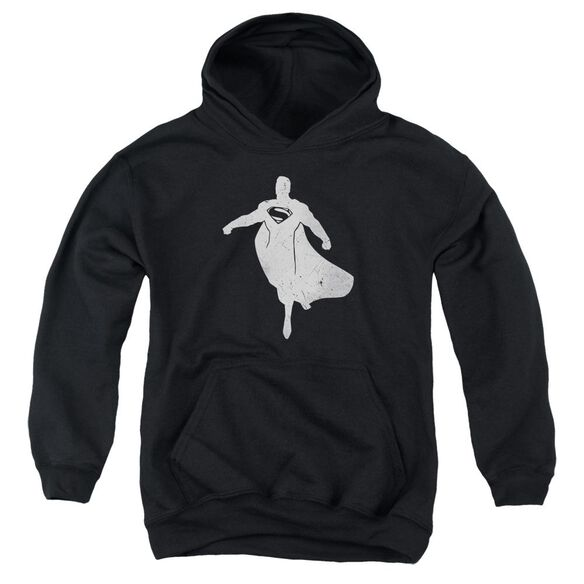 Batman V Superman Superman Silhouette Youth Pull Over Hoodie