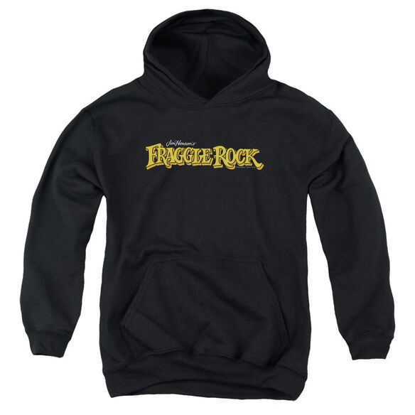 Fraggle Rock Logo Youth Pull Over Hoodie