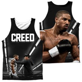 Creed Poster (Front Back Print) Adult 100% Poly Tank Top