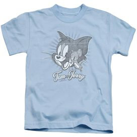Tom And Jerry Classic Pals Short Sleeve Juvenile Light T-Shirt