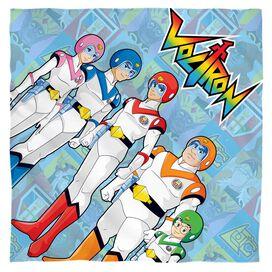 Voltron Team Bandana White