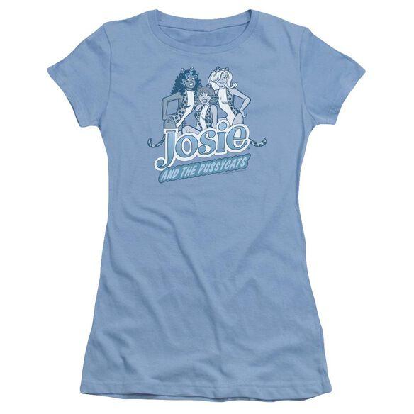 Archie Comics Glamour Girls Short Sleeve Junior Sheer Carolina T-Shirt