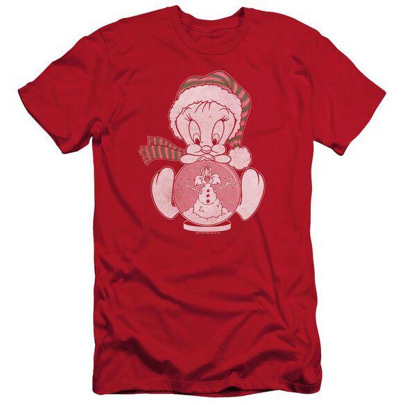 Looney Tunes Tweey Globe Short Sleeve Adult T-Shirt