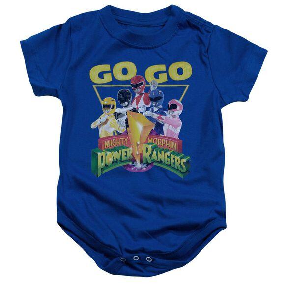 Power Rangers Go Go Infant Snapsuit Royal Blue