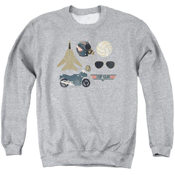 Top Gun Items Adult Crewneck Sweatshirt Athletic