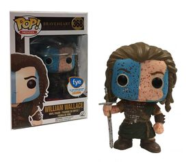 Pop Exclusive Braveheart William Wallace Blood Spattered