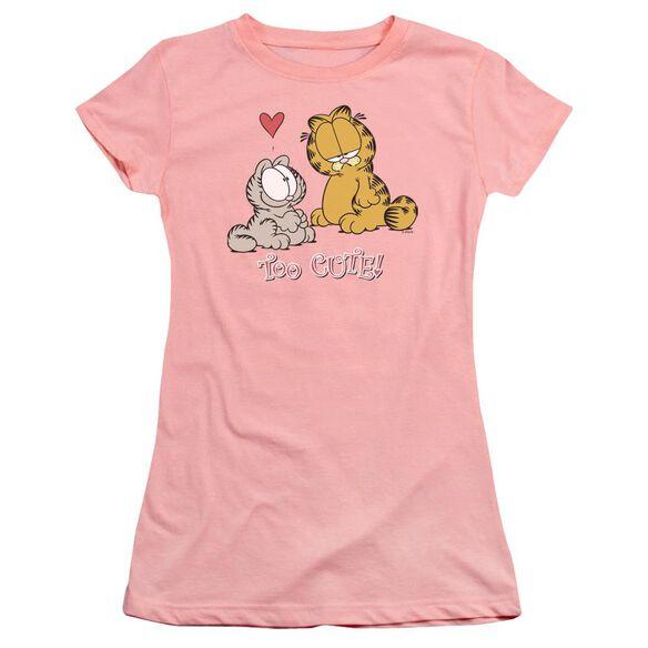 Garfield Too Cute Premium Bella Junior Sheer Jersey