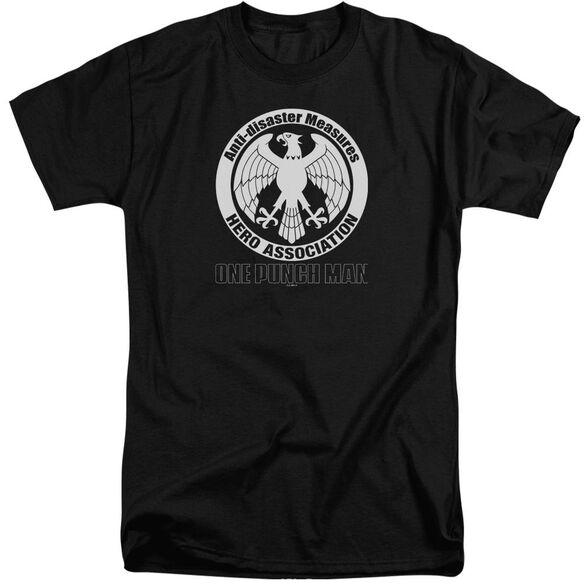 One Punch Man Hero Association Logo Short Sleeve Adult Tall T-Shirt