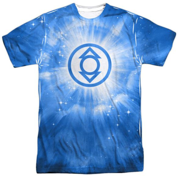 Green Lantern Indigo Energy Short Sleeve Adult 100% Poly Crew T-Shirt