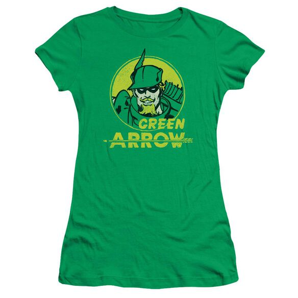 Dc Archer Circle Short Sleeve Junior Sheer Kelly T-Shirt