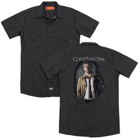 Constantine Smoker(Back Print) Adult Work Shirt