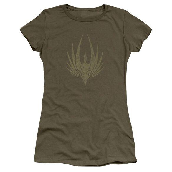 Bsg Phoenix Short Sleeve Junior Sheer Military T-Shirt