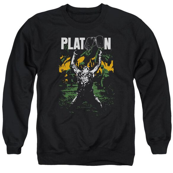 Platoon Graphic Adult Crewneck Sweatshirt