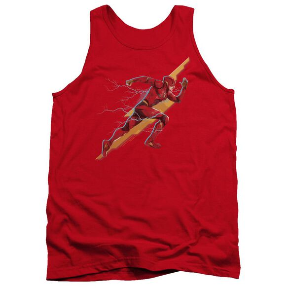 Justice League Movie Flash Forward Adult Tank