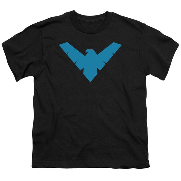 Batman Nightwing Symbol Short Sleeve Youth T-Shirt