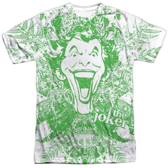 Batman Joker In The Wild Short Sleeve Adult 100% Poly Crew T-Shirt