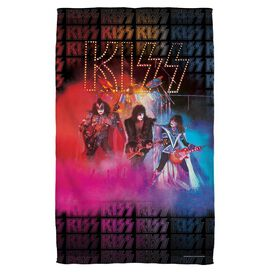 Kiss Stage Lights Golf Towel White Face