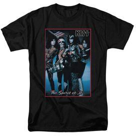 Kiss Spirit Of 76 Short Sleeve Adult T-Shirt