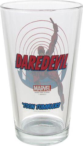 Daredevil Radar Sense Toon Tumbler Pint Glass