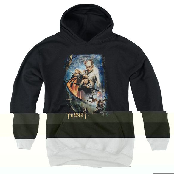 Hobbit Thranduil's Realm Youth Pull Over Hoodie
