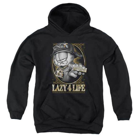 Garfield Lazy 4 Life Youth Pull Over Hoodie