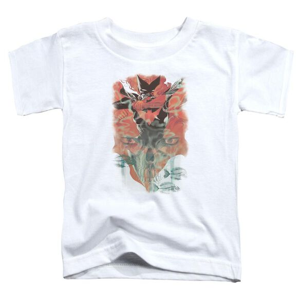 Batman Batwoman #1 Short Sleeve Toddler Tee White Md T-Shirt