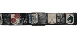 Attack on Titan Military Crests Seatbelt Mesh Belt