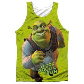 Shrek Trio Adult 100% Poly Tank Top
