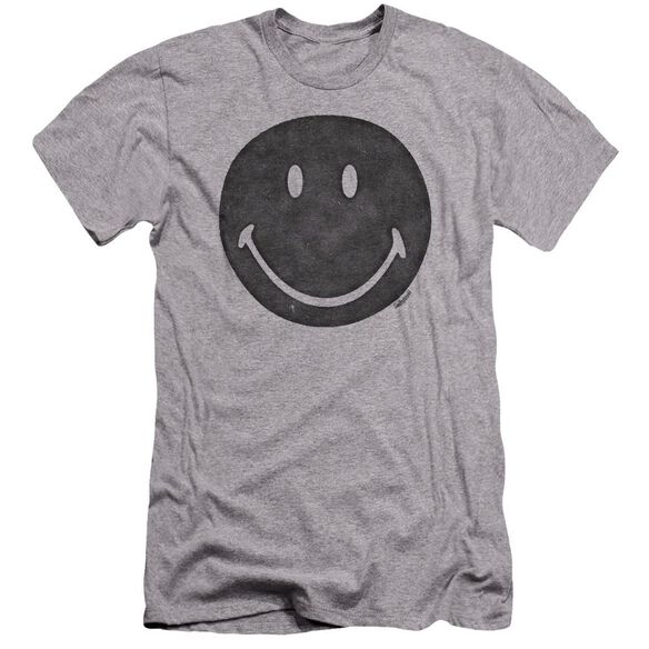 Smiley World Rough Face Premuim Canvas Adult Slim Fit Athletic