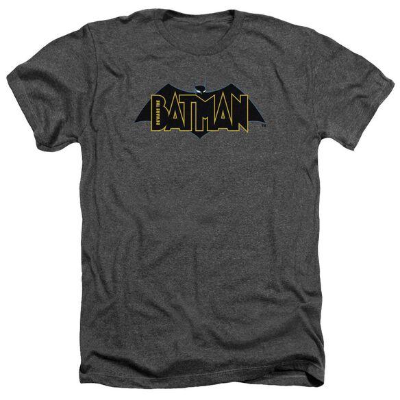 Beware The Batman Logo Adult Heather