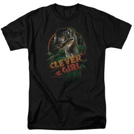Jurassic Park Clever Girl Short Sleeve Adult T-Shirt