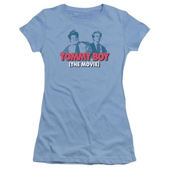 Tommy Boy Logo Short Sleeve Junior Sheer Carolina T-Shirt