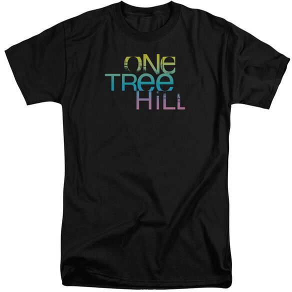 One Tree Hill Color Blend Logo Short Sleeve Adult Tall T-Shirt
