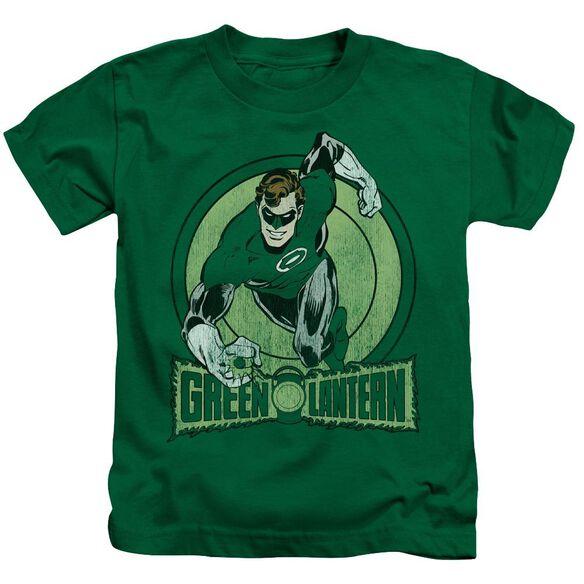 Dc Green Lantern Short Sleeve Juvenile Kelly Green T-Shirt