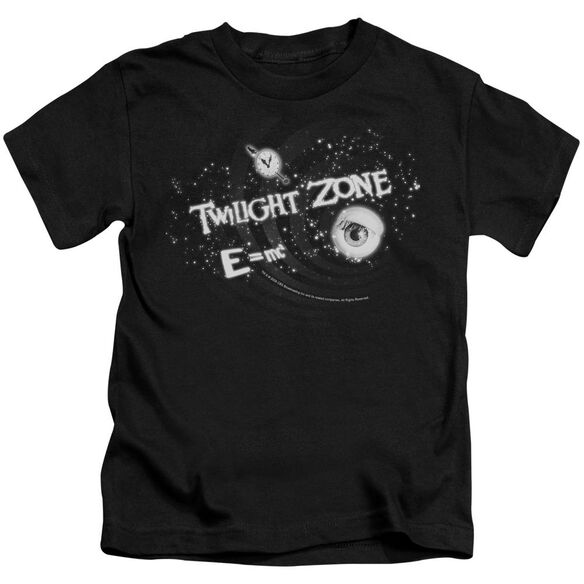 Twilight Zone Another Dimension Short Sleeve Juvenile Black Md T-Shirt