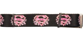 Supergirl Hibiscus Shield Mesh Belt