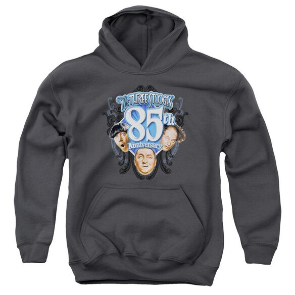 Three Stooges 85 Th Anniversary 2 Youth Pull Over Hoodie