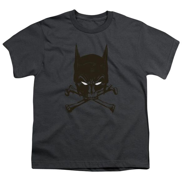 Batman Bat And Bones Short Sleeve Youth T-Shirt