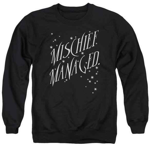 Harry Potter Mischief Managed 4 Adult Crewneck Sweatshirt