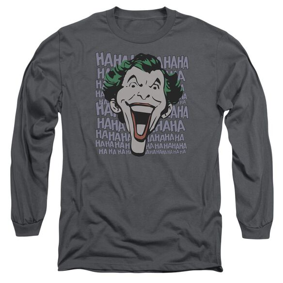 Dc Dastardly Merriment Long Sleeve Adult T-Shirt