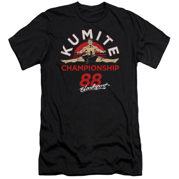 Bloodsport Championship 88 Premuim Canvas Adult Slim Fit
