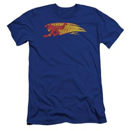 DC FLASH FASTEST MAN ALIVE-PREMUIM CANVAS ADULT SLIM FIT