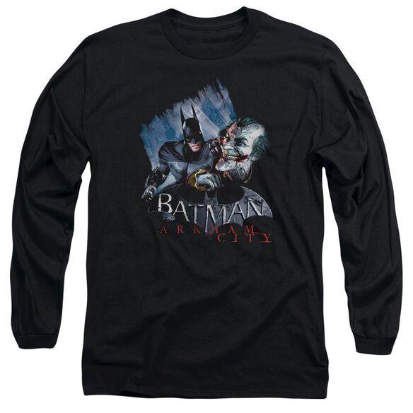 Arkham City Joke's On You! Long Sleeve Adult T-Shirt