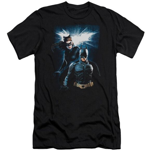 Dark Knight Rises Bat & Cat Short Sleeve Adult T-Shirt