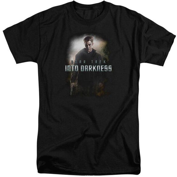 Star Trek Darkness Kirk Short Sleeve Adult Tall T-Shirt